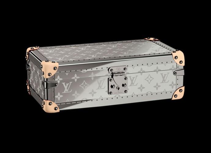Louis Vuitton Coffret Montres Titanium Watch Trunk