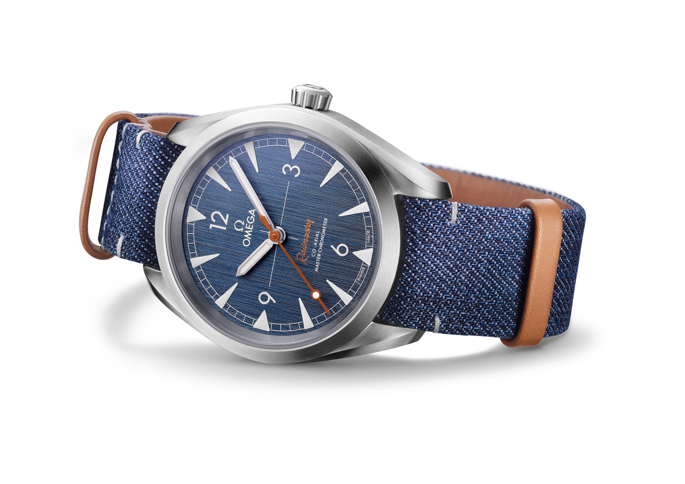 Omega Railmaster Co-Axial Master Chronometer Denim