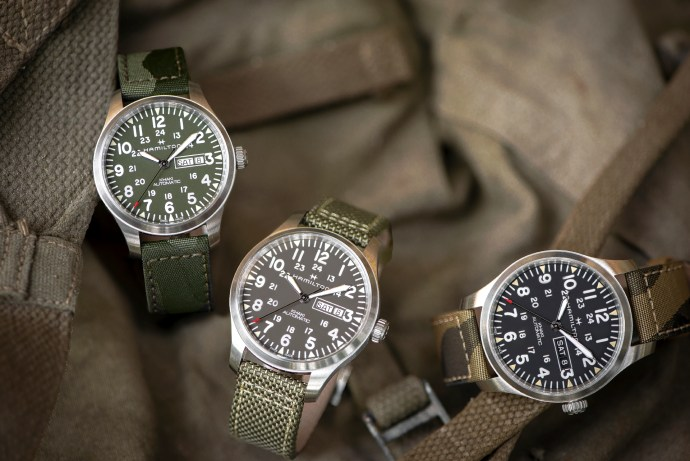 "Khaki Field Day Date Auto ""Camouflage"""