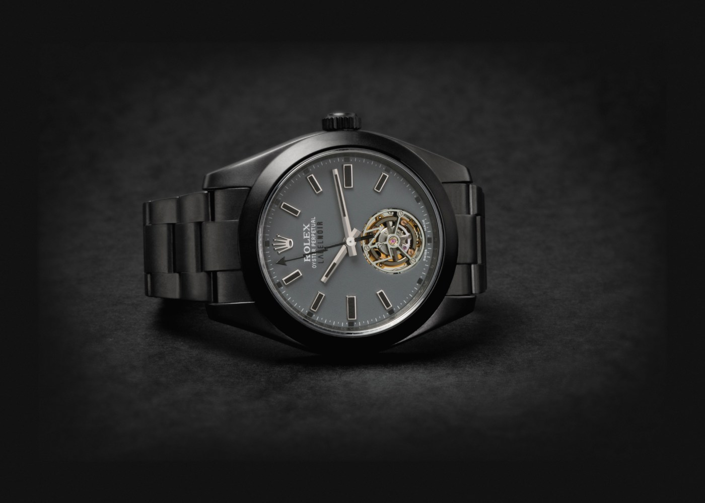 Rolex Milgauss Tourbillon by Label Noir