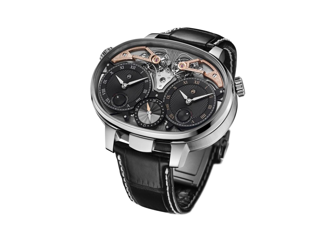 Armin Strom Dual Time Resonance Three-Quarter angle