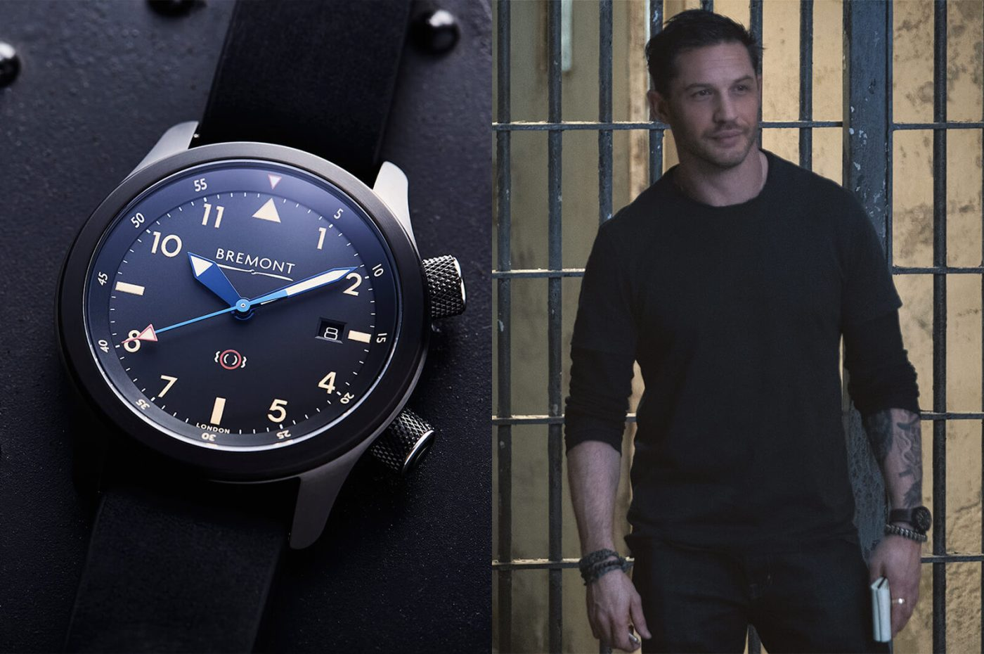 Bremont U-2/51-Jet and Tom Hardy Venom