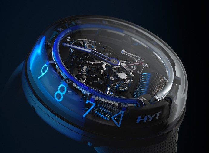 HYT H2.0 Blue Side