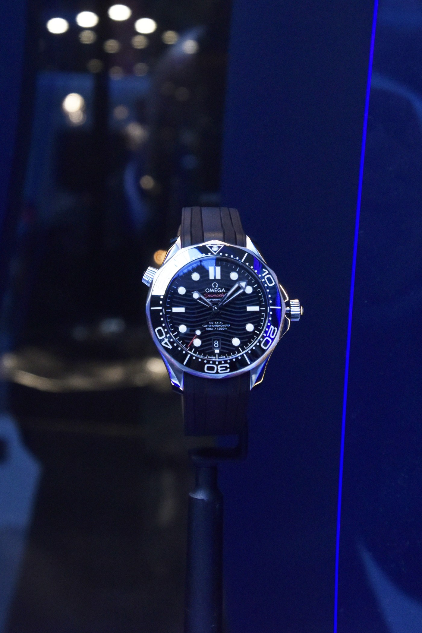 Omega opens up Seamaster pop-up at 711 Fifth Ave