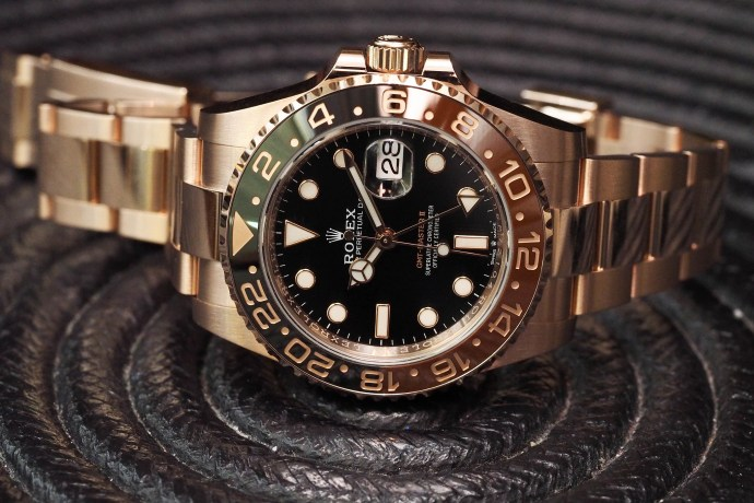 Rolex GMT-Master II Everose gold 2018
