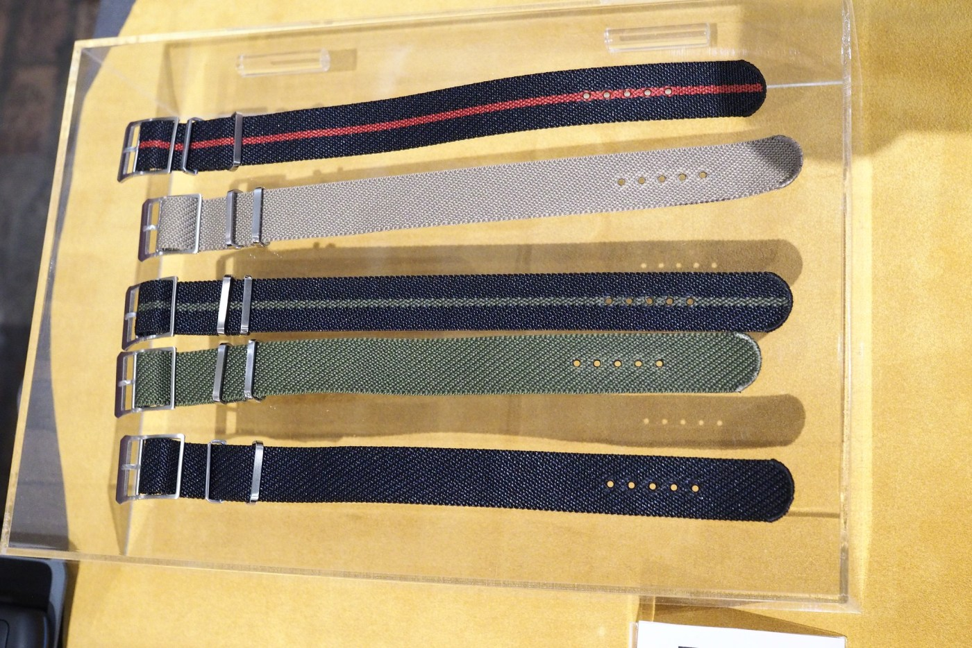 Perlon Straps from Crown & Buckle Private label