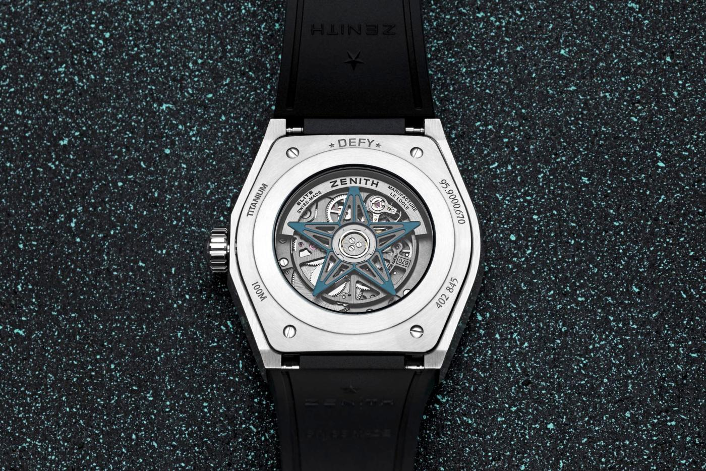 Zenith Defy Classic Range Rover Special Edition caseback