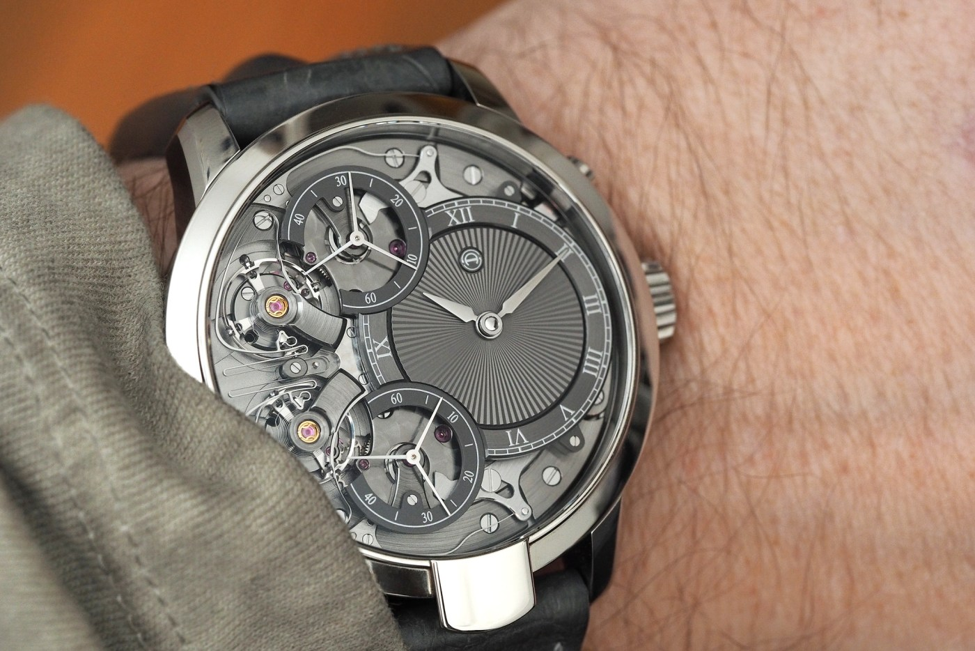 Armin Strom Mirrored Force Resonance stainless steel