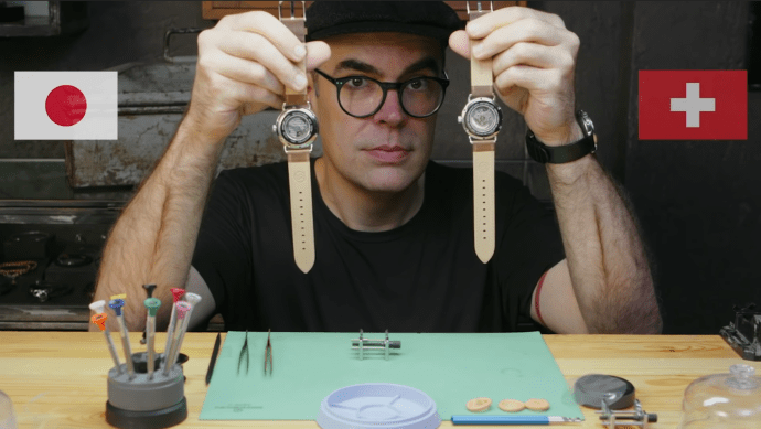Watchmaker Ryan Jewell breaks-down Japanese and Swiss movement for Wired Deconstructed