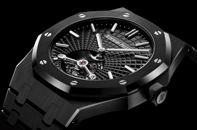 Royal Oak Tourbillon Extra-Thin Black Cerami