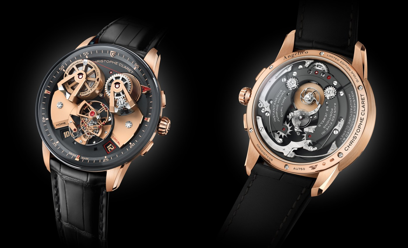 Christophe Claret Angelico front and back view