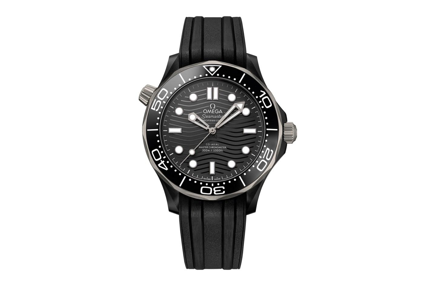 Omega Seamaster Diver 300M Black Ceramic and Titanium