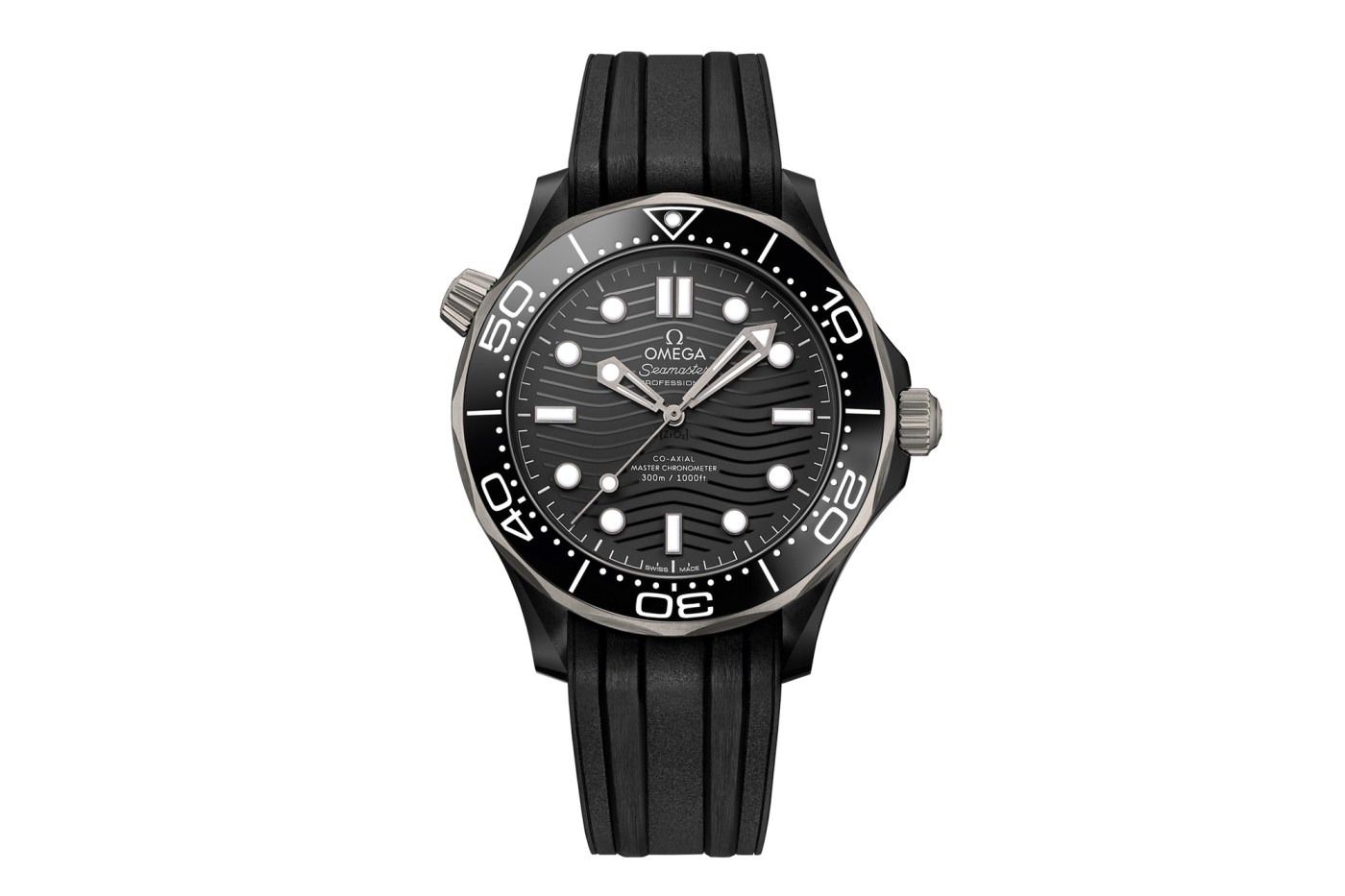 Omega Seamaster Diver 300M Black Ceramic and Titanium