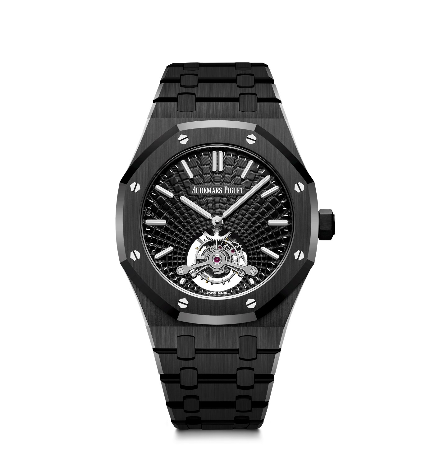Black Ceramic Royal Oak Tourbillon Extra-Thin