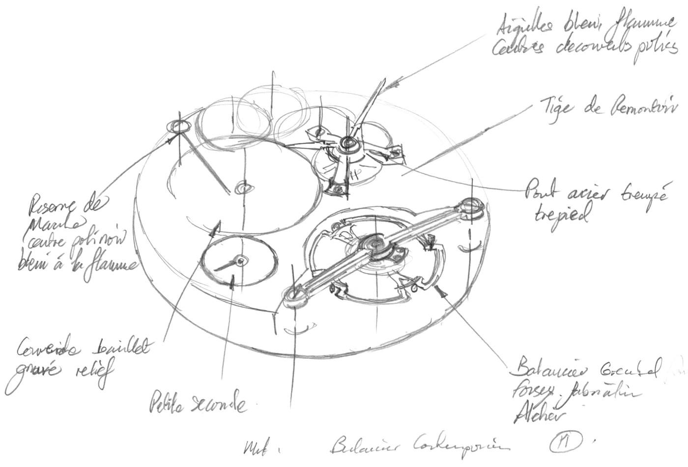 Sketch by Stephen Forsey