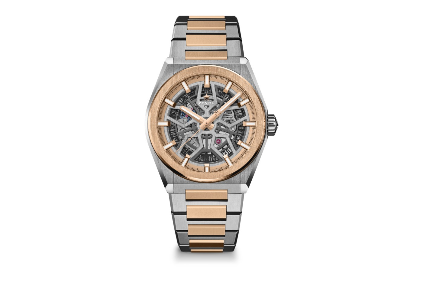 Zenith Defy Classic Two-Tone Titanium and Gold