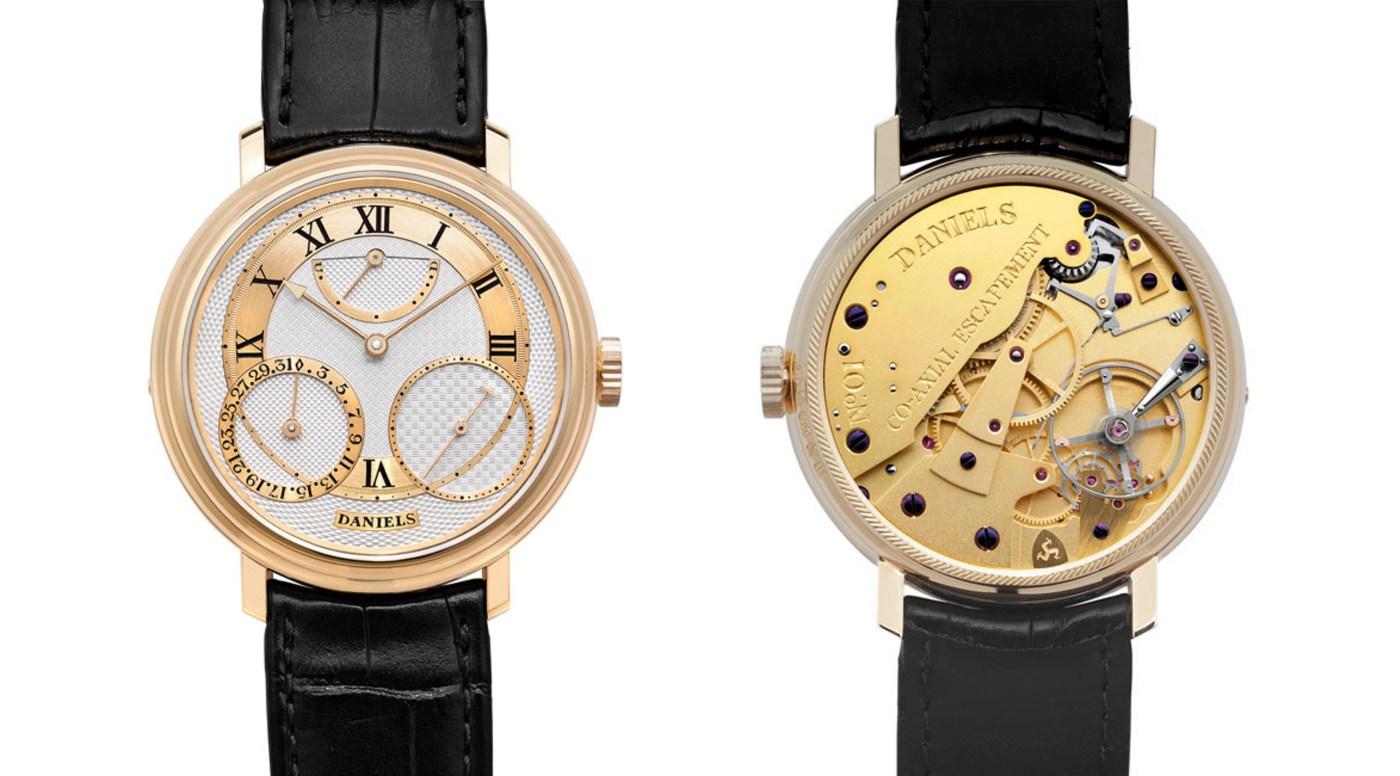 Reloj de aniversario de George Daniels.