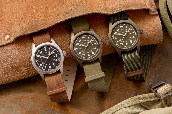 Hamilton's Khaki Field Mechanical 2019