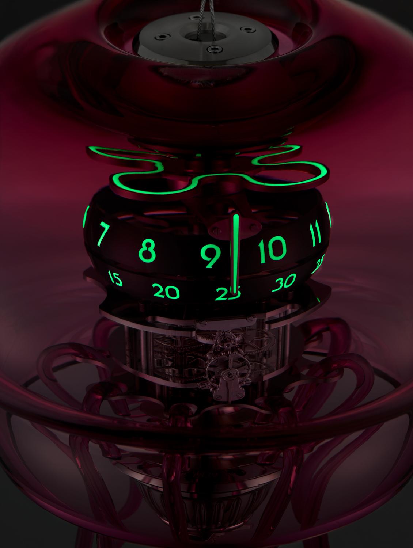 Medusa Clock by L'Epée x MB&F