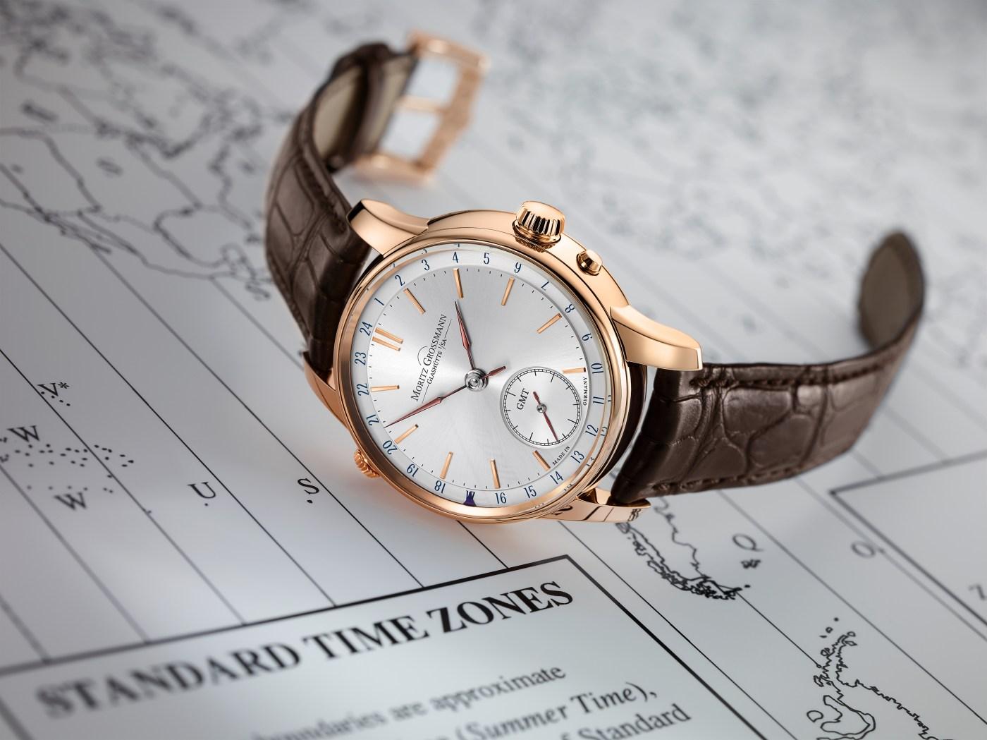 Moritz Grossmann GMT rose gold