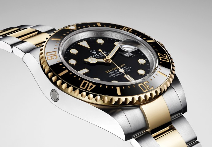 Rolex Sea Dweller 2019 Yellow Rolesor