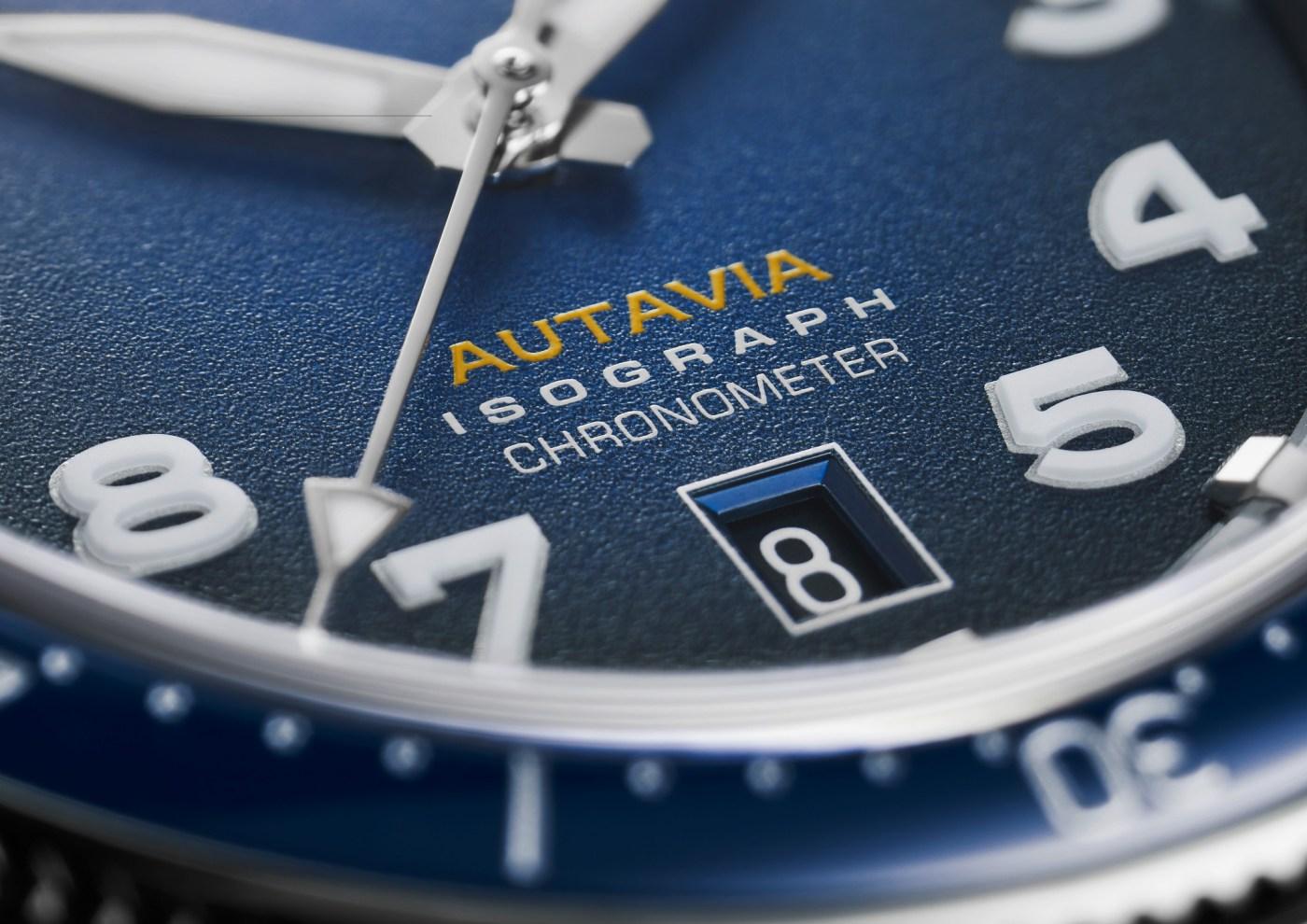 TAG Heuer Autavia 2019 detail shot