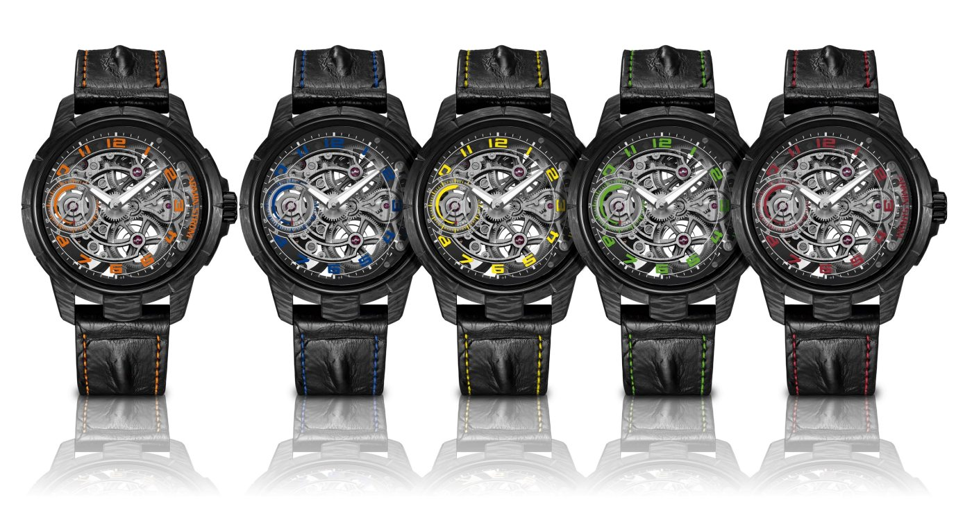 Armin Strom x Cases & Dials Carbon Skeleton combination