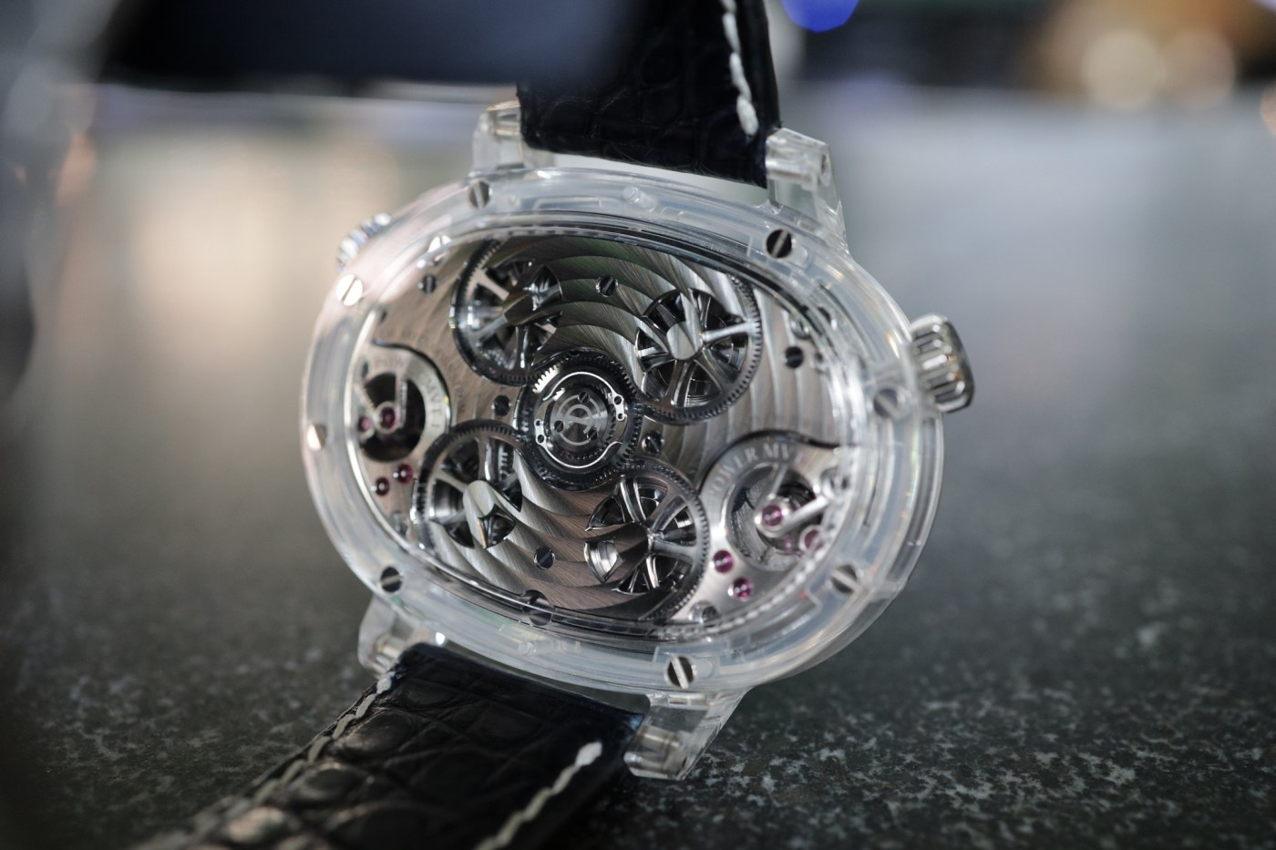 Armin Strom Dual Force Resonance sapphire