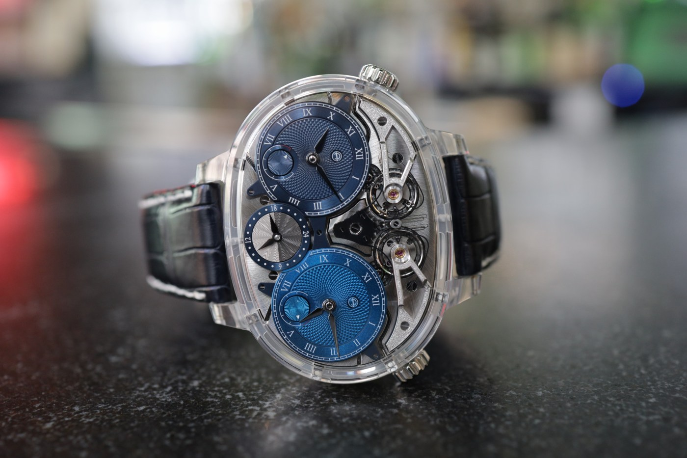 Armin Strom Dual Force Resonance sapphire
