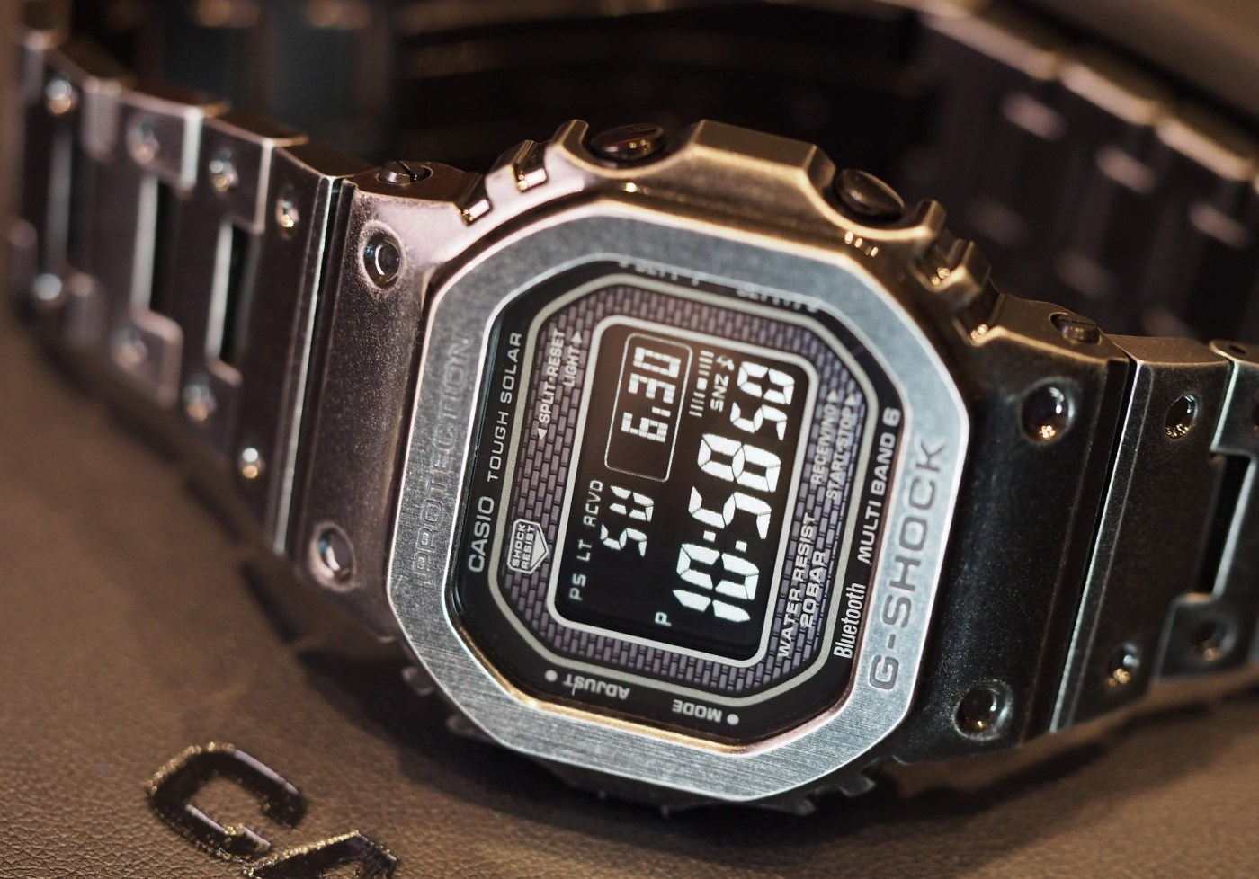 2019 G-Shock Full Metal Black Aged IP GMW-B5000V-1