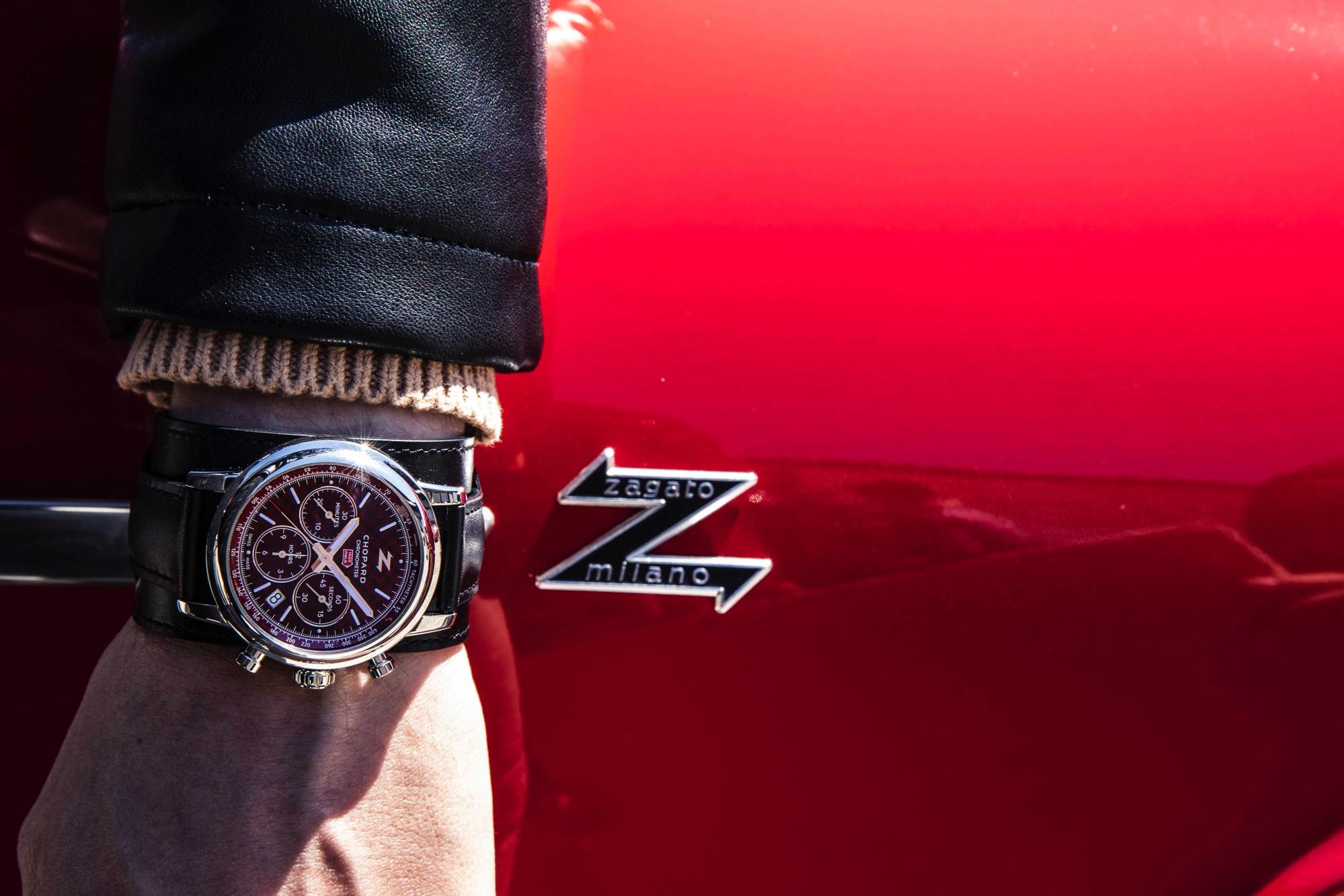 Mille Miglia Classic Chronograph-Zagato 100th Anniversary Edition cover wristshot