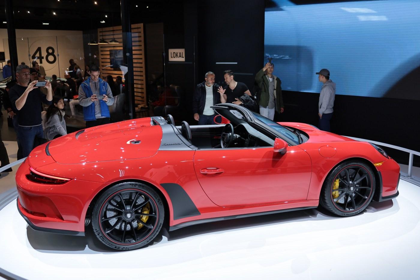 Porsche 911 Speedster Special Edition 2019
