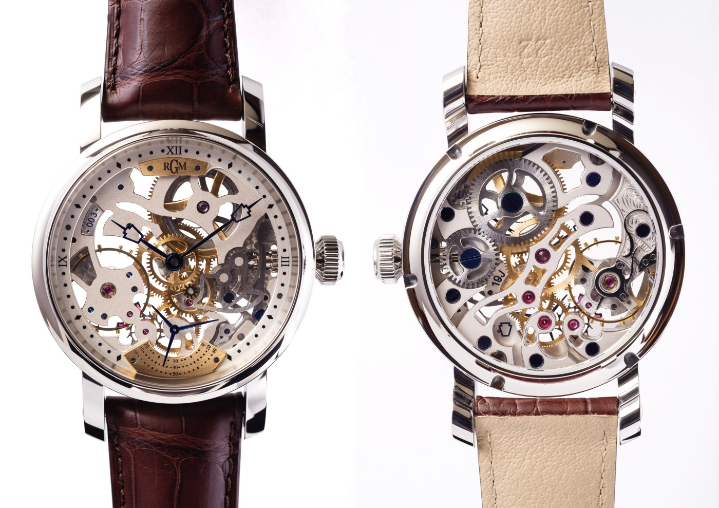 RGM PS-801-Skeleton front and back