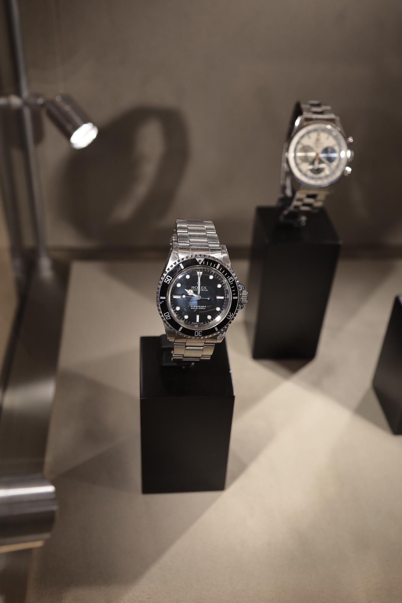 Vintage Rolex Submariner at Watches of Switzerland
