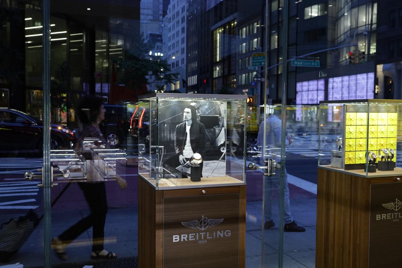 Breitling boutique 575 Madison Avenue