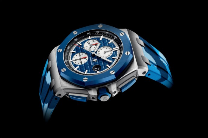 Royal Oak Offshore Chronograph Blue Camouflage Ref. 26400SO.OO.A335CA.01