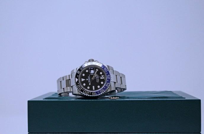 Rolex Batman GMT Master II Ref 116710BLNR