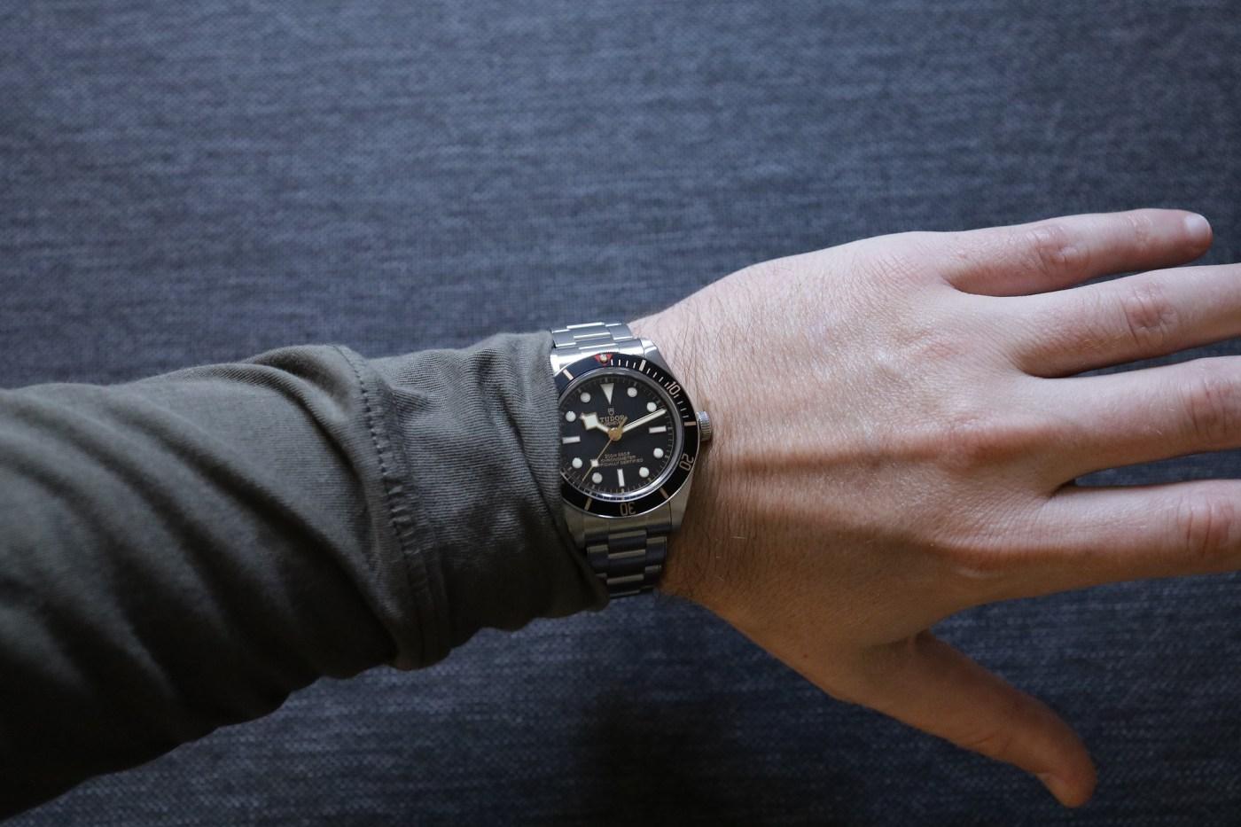 Black Bay 58 wristshot