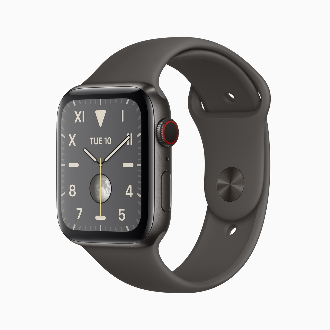 Apple Watch Series 5 DLC titanium
