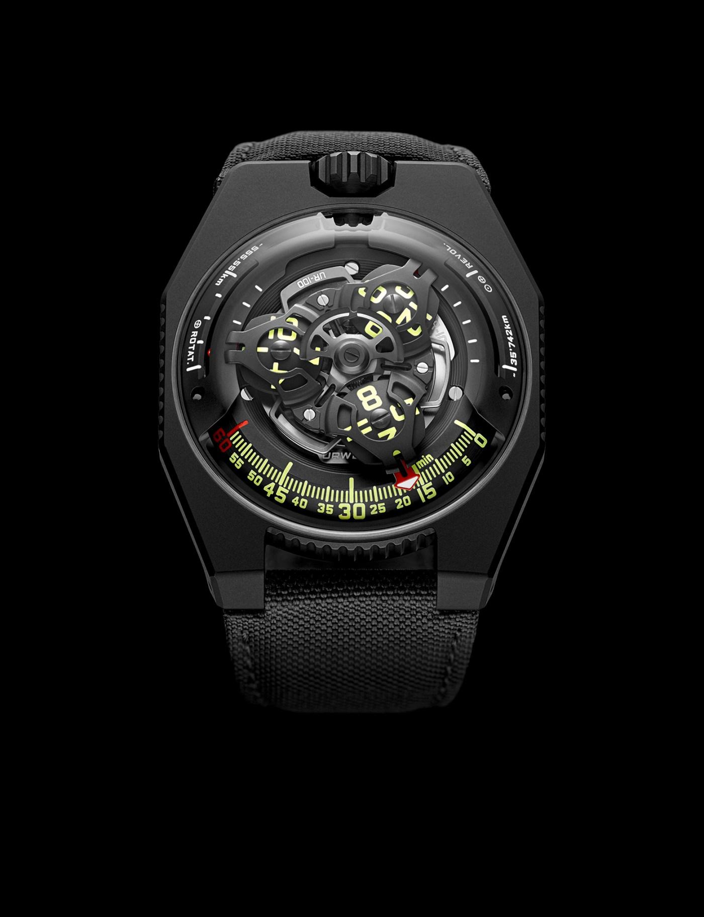 Urwerk UR-100 Spacetime