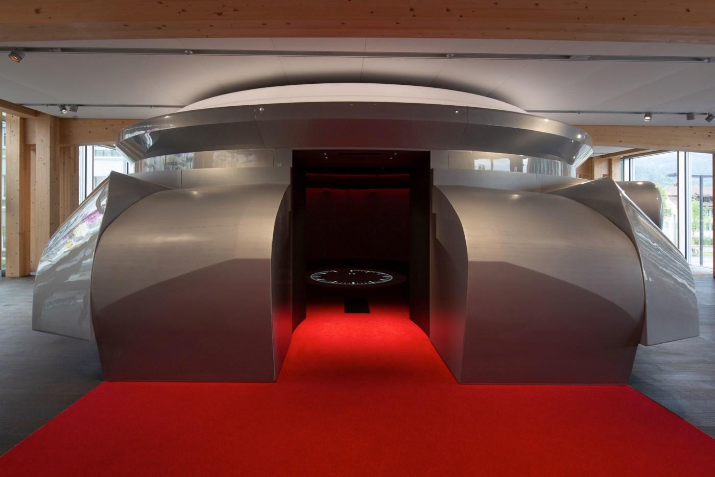 Omega Museum Gigantic Walk-In Speedmaster