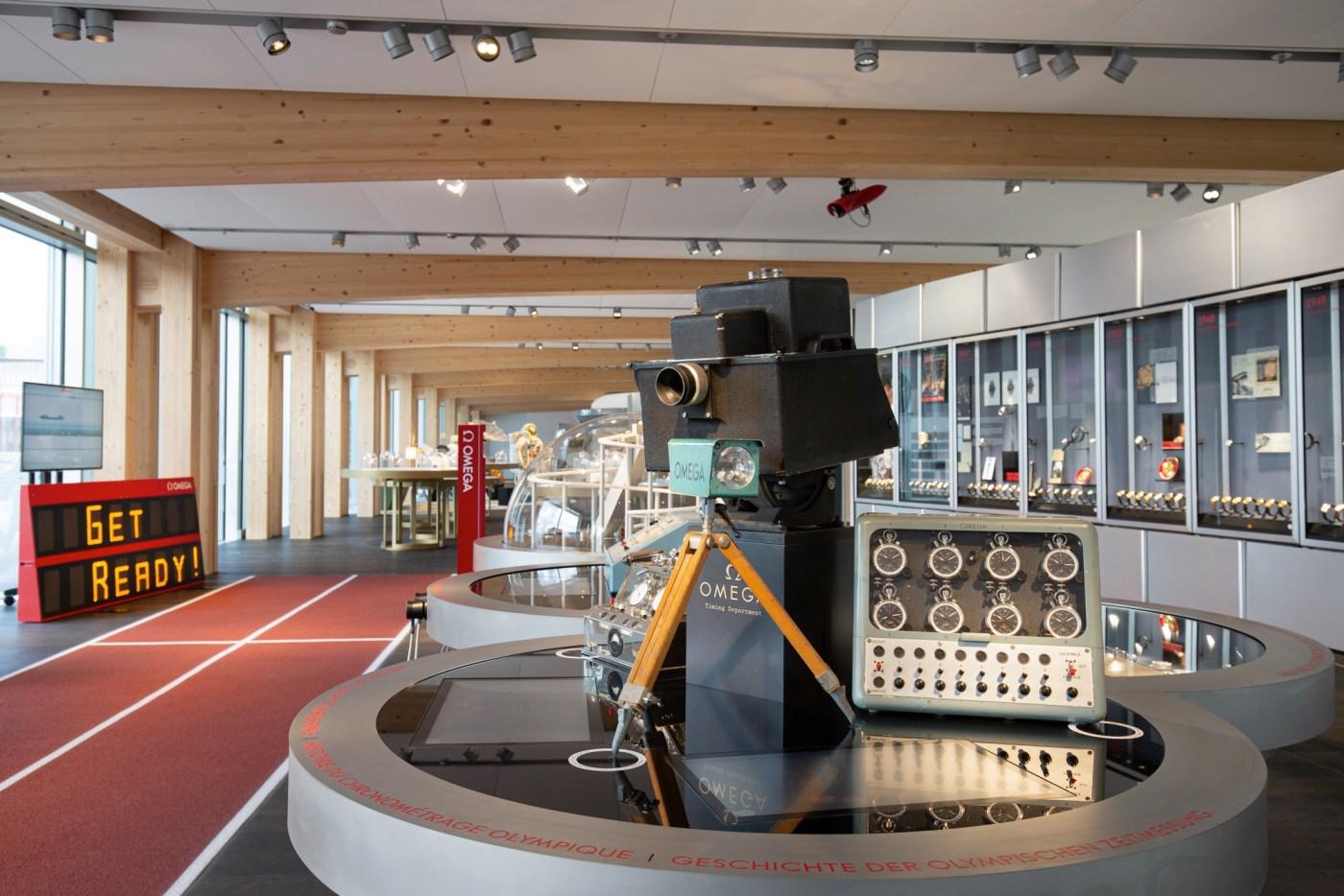 Omega Museum display 2019