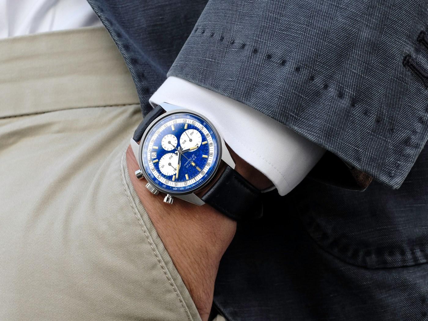 Zenith Platinum El Primero wristshot