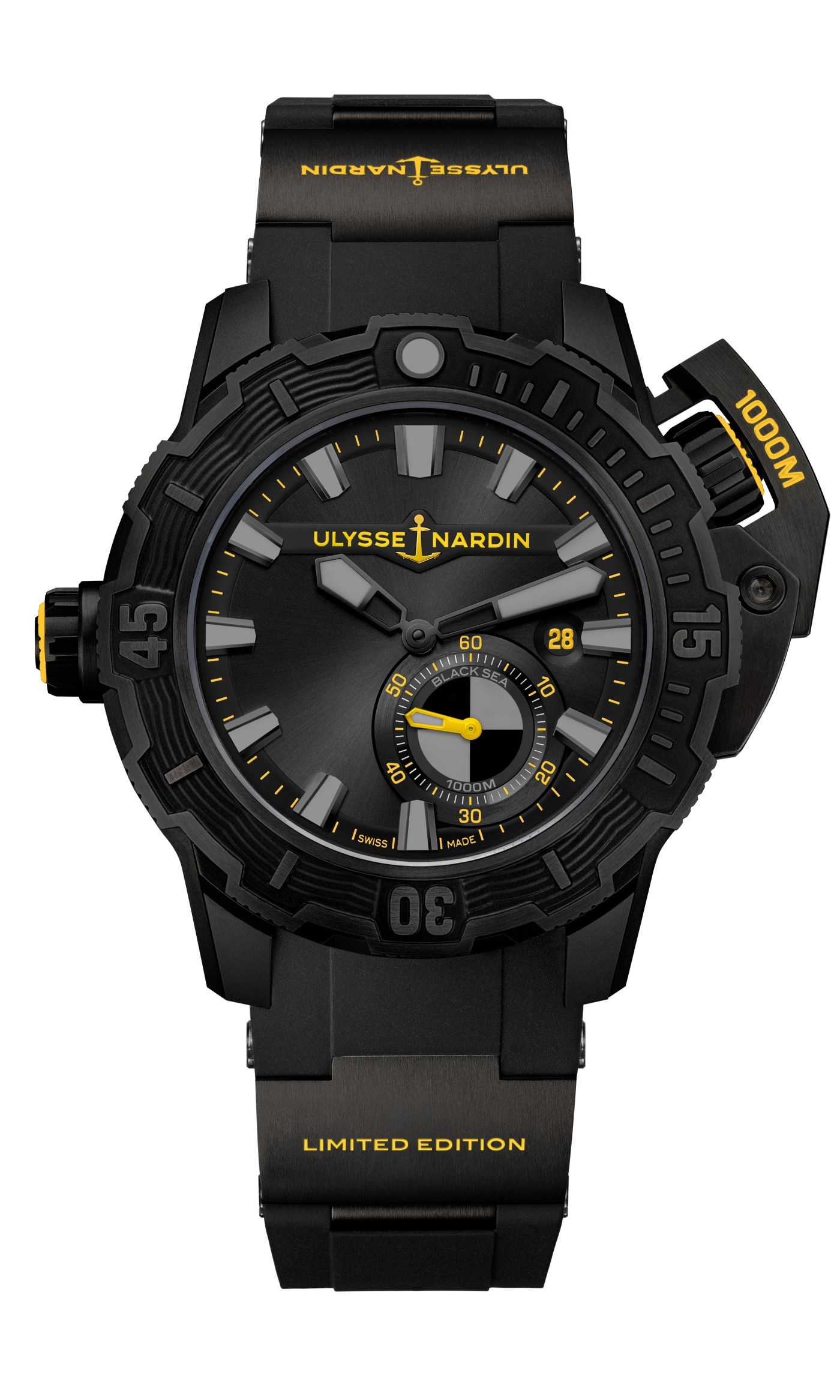 "Ulysse Nardin Diver Deep Dive ""One More Wave"""