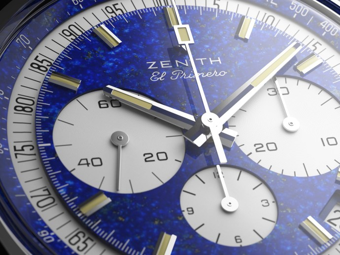 Zenith Platinum El Primero close-up