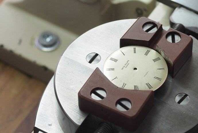 Tiffany and Co logo stamped on Patek Philippe dial