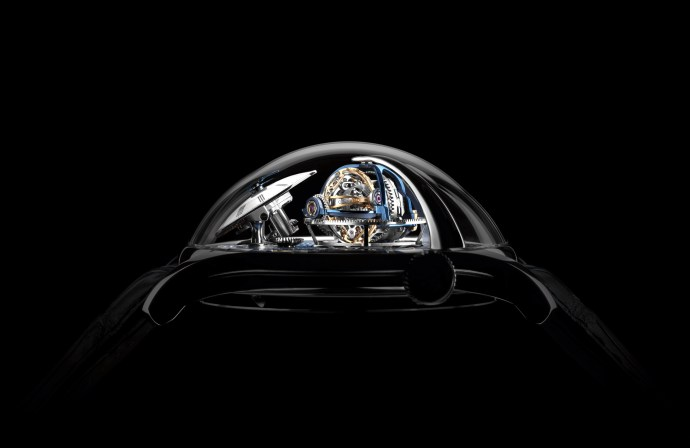MB&F Legacy Machine Thunderdome profile