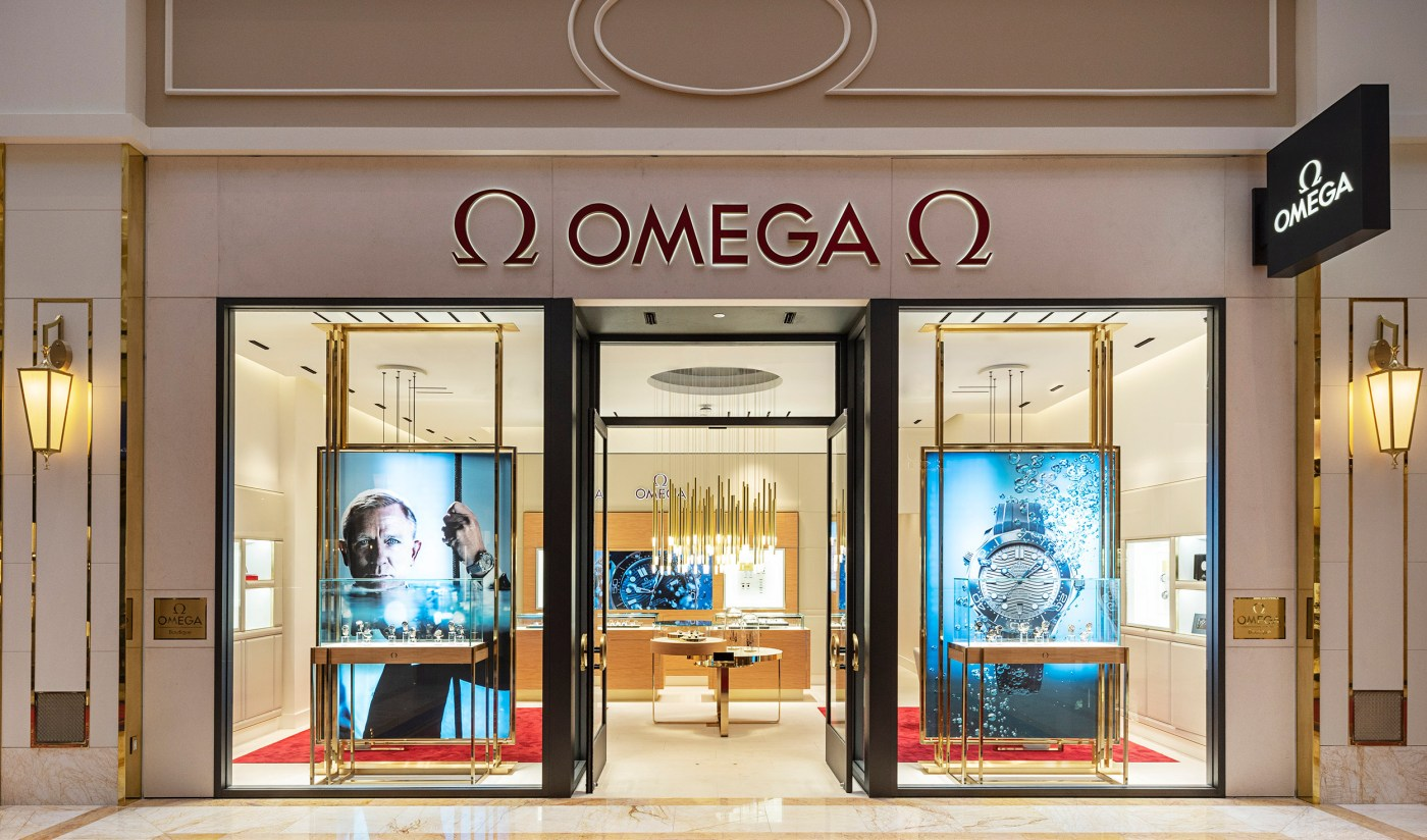 Omega Boutique at Wynn Plaza Shops in Las Vegas