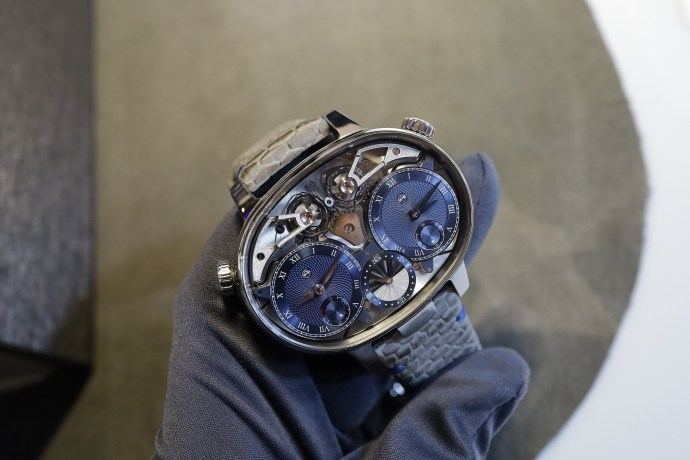 Armin Strom Dual Time Resonance at WatchTime 2019