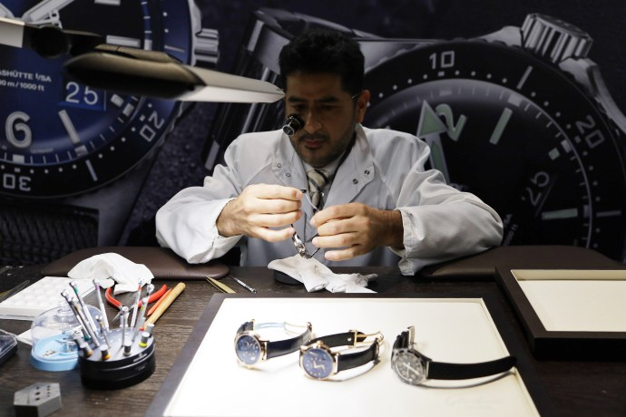 Glashutte Original watchmaker